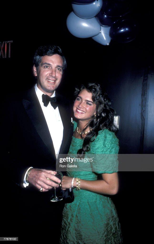 Frank Shields and Brooke Shields