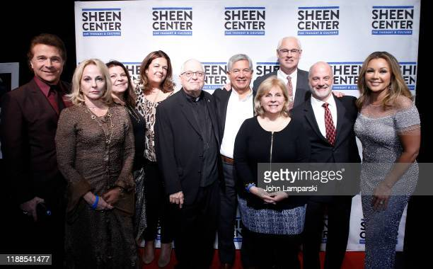 Frank Shiner and Vanessa Williams and friends attend Thankful for Christmas with guests Norm Lewis Michael Urie and Bernie Williams at Sheen Center...