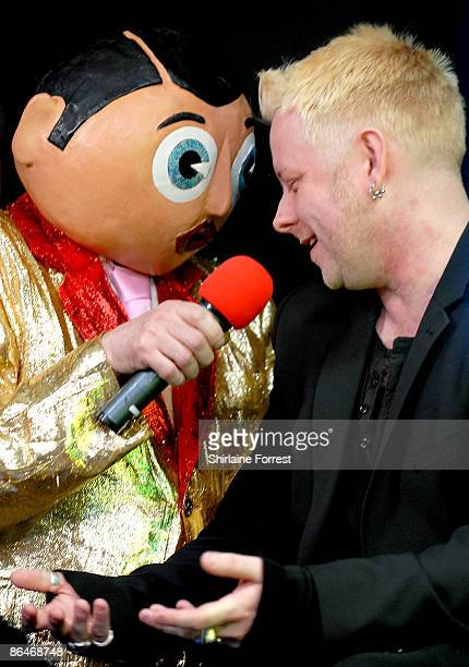 Frank Sidebottom and Jay Taylor of Bone Box appear at Channel M's 'City Life Social Session' at Urbis on May 6, 2009 in Manchester, England.