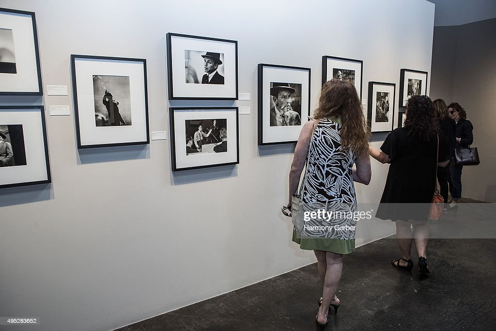 'Frank Sinatra and Audrey Hepburn: A Life In Pictures' opening reception at Peter Fetterman Gallery at Bergamot Station on November 1, 2015 in Santa Monica, California.