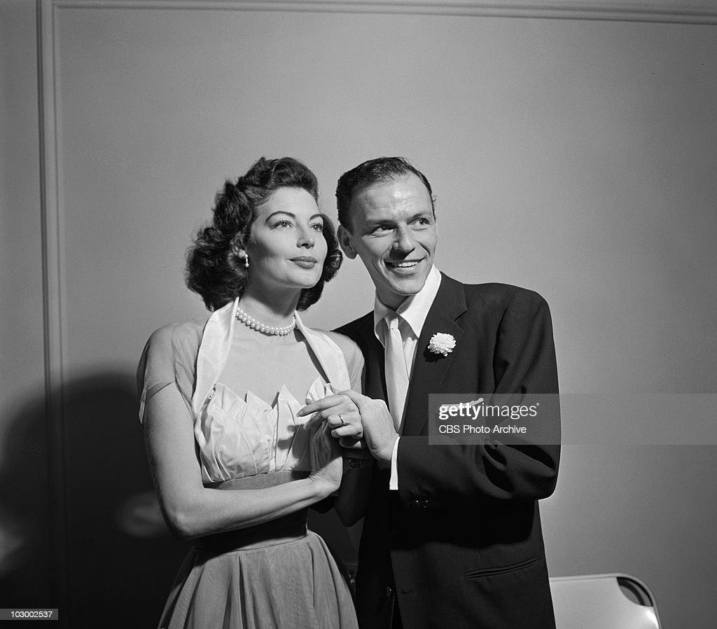 Frank Sinatra And Ava Gardner On Their Wedding Day Image Dated November 7 1951
