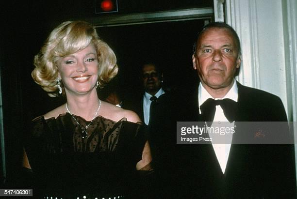 Frank Sinatra and Barbara Sinatra circa 1979 in New York City.