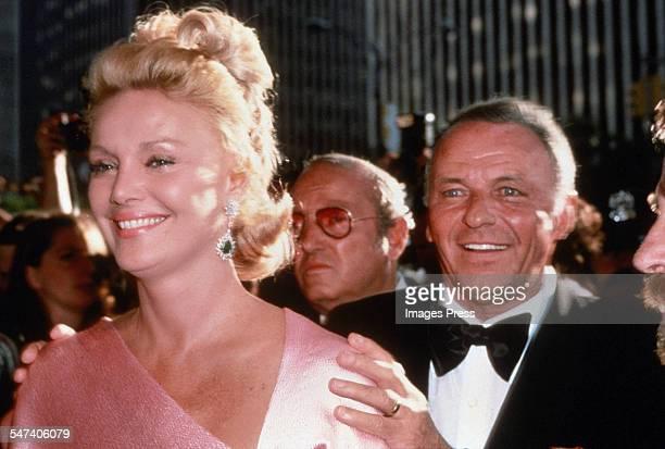 Frank Sinatra and Barbara Sinatra circa 1980 in New York City