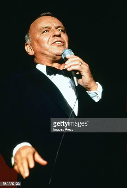 Frank Sinatra in concert circa 1982 in New York City