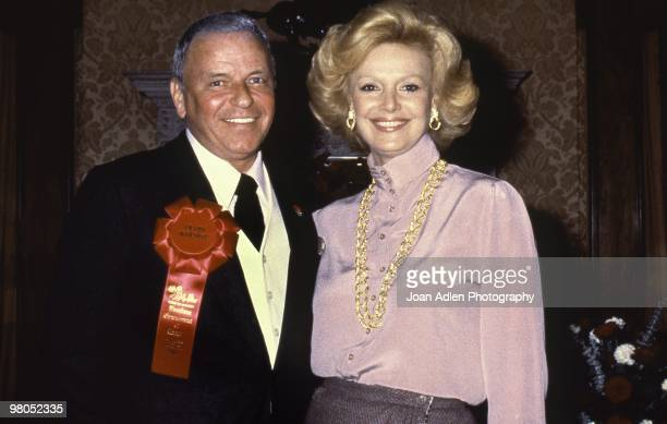 Frank Sinatra is the Grand Marshal at the Tournament of the Roses Parade on Jan 1, 1980 in Pasadena, California.
