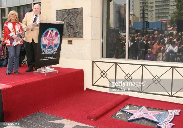 Frank Sinatra Jr and Nancy Sinatra during Nancy Sinatra Recieves A Star On The Hollywood Walk of Fame at The Hollywood Walk of Fame in Hollywood...