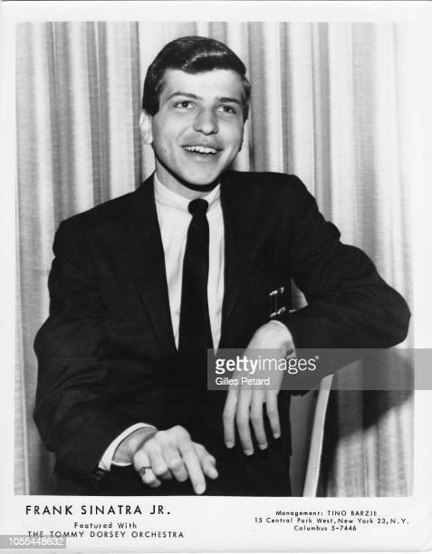 Frank Sinatra Jr studio portrait circa 1955