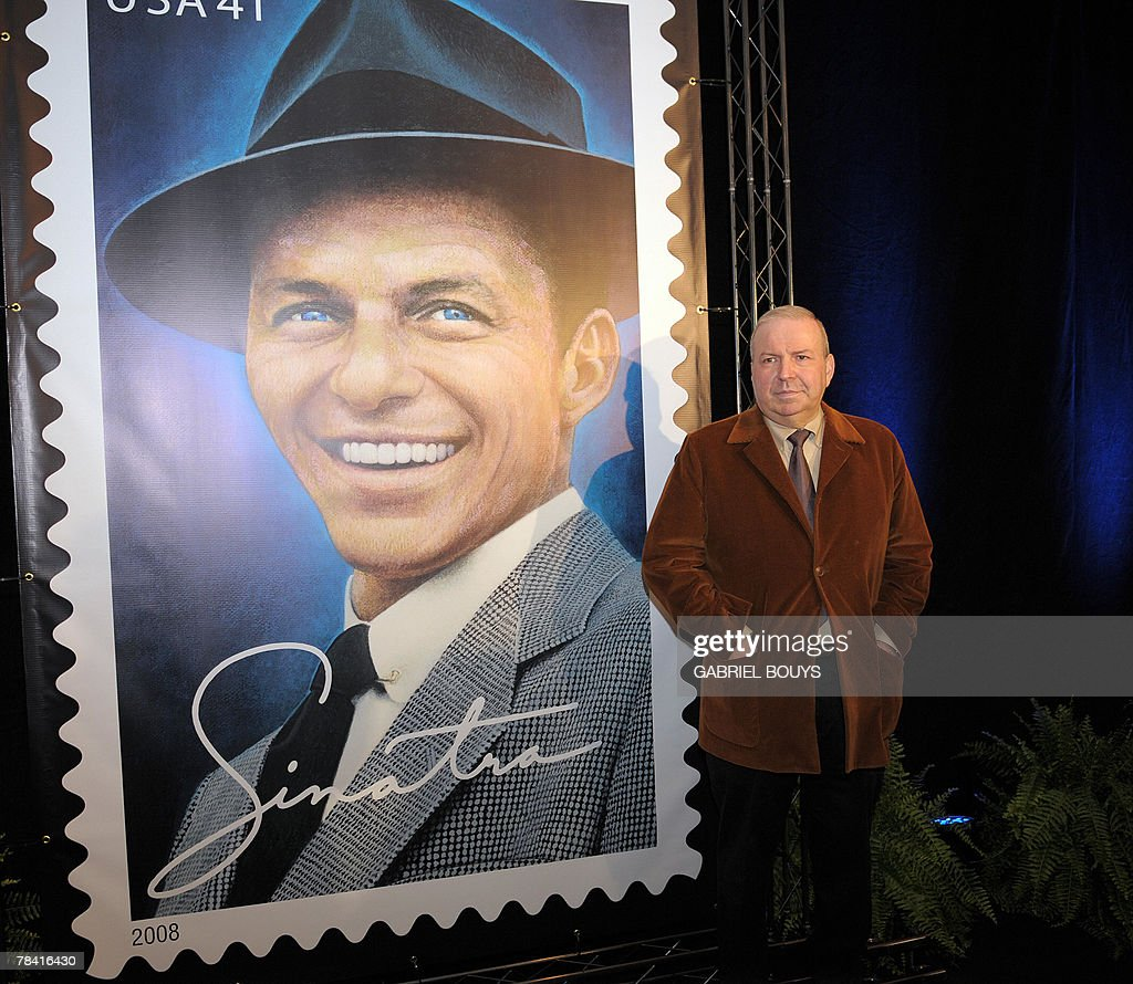 Unveiling Of Frank Sinatra Stamp