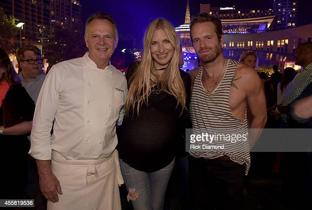 Frank Sitt Holly Williams and Chris Coleman attend the Music City Food Wine Festival Harvest Night Presented By Infiniti on September 20 2014 in...