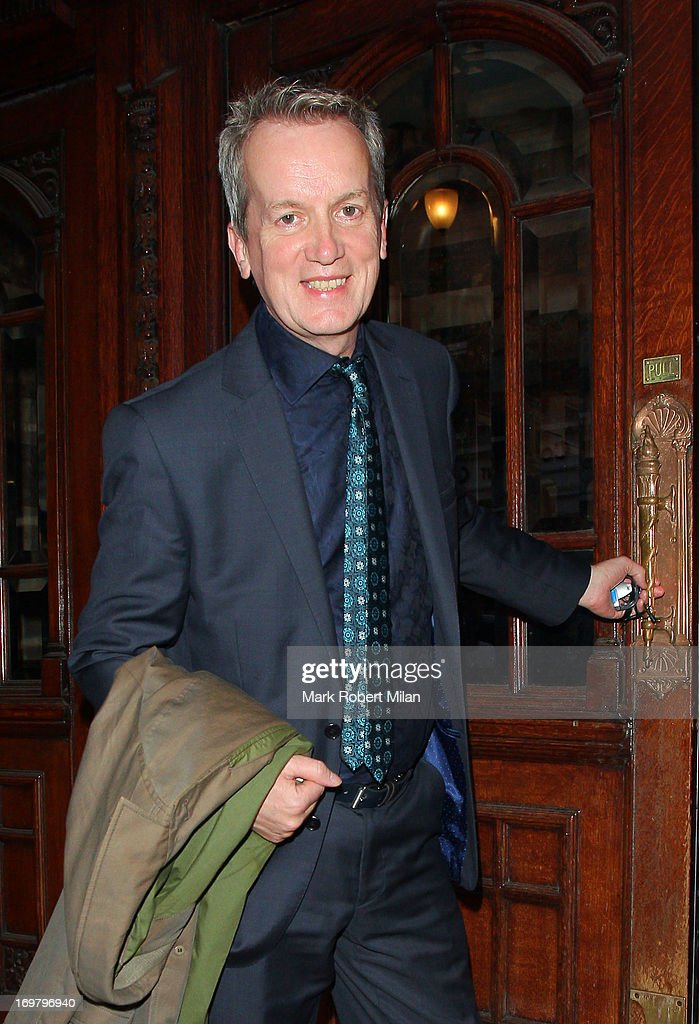 Frank Skinner attending The Perfect American press night on June 1, 2013 in London, England.