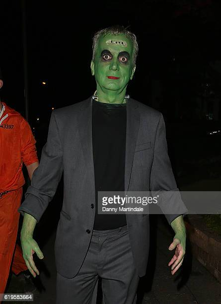 Frank Skinner attends Jonathan Ross's Halloween Party on October 31 2016 in London England