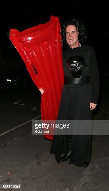 Frank Skinner seen attending Jonathan Ross Halloween party on October 31 2017 in London England