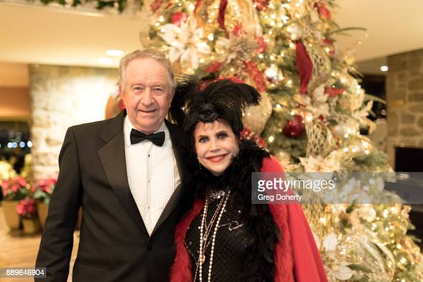 Frank Sperling and Stephanie Hibler attend The Thalians Hollywood for Mental Health Holiday Party 2017 at the Bel Air Country Club on December 09...