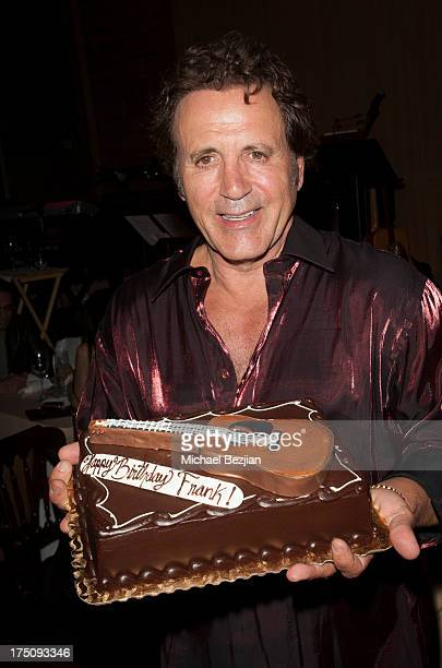 Frank Stallone attends his birthday at Vibrato Grill Jazz on July 30 2013 in Beverly Hills California