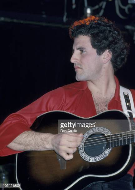 Frank Stallone during Frank Stallone Band 'Valentines' Opening Show February 14 1978 at Roxy in Los Angeles California United States