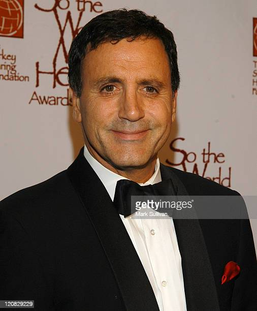 Frank Stallone during So The World May Hear Awards Gala at Century Plaza Hotel in Century City California United States