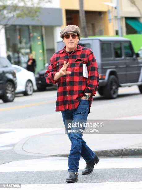 Frank Stallone is seen on February 27 2017 in Los Angeles California