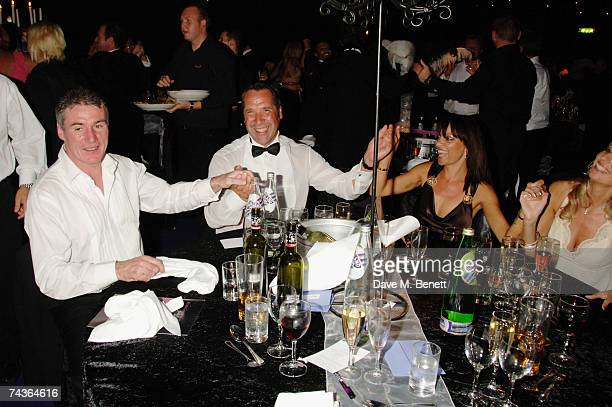 Frank Stapleton David Seaman and his wife Debbie attend the Max Beesley And Ryan Giggs Golf Classic And Dinner at the Belfry Golf Club May 20 2007 in...