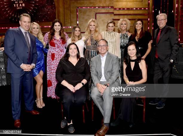 Frank Tanki GM CMT and TV Land Honorees Carrie Underwood Hillary Scott of musical group Lady Antebellum Maren Morris Miranda Lambert Kelsea Ballerini...