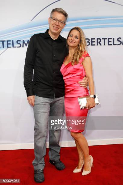 Frank Thelen and his wife Nathalie ThelenSattler attend the 'Bertelsmann Summer Party' at Bertelsmann Repraesentanz on June 22 2017 in Berlin Germany