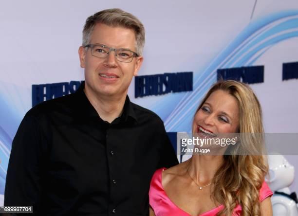 Frank Thelen and Nathalie ThelenSattler attend the Bertelsmann Summer Party at Bertelsmann Repraesentanz on June 22 2017 in Berlin Germany