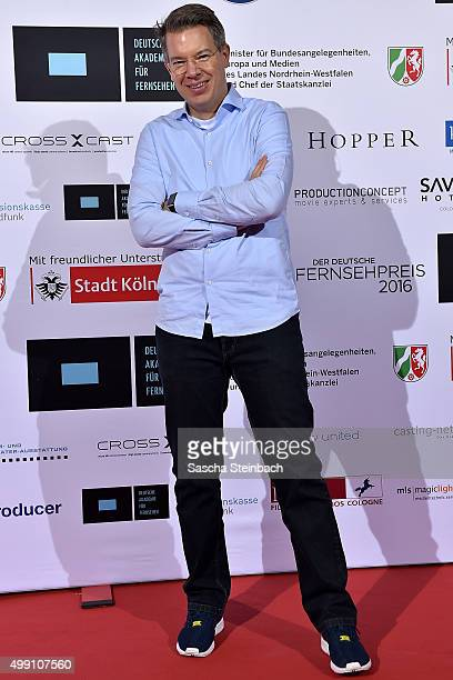 Frank Thelen attends the German television award by the Deutsche Akademie fuer Fernsehen at Museum Ludwig on November 28 2015 in Cologne Germany