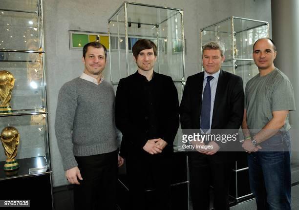 Frank Tschan director of Coaching Education for US Youth Soccer Daniel Nidschkovski course leader Markus Weidner of the German Football Association...