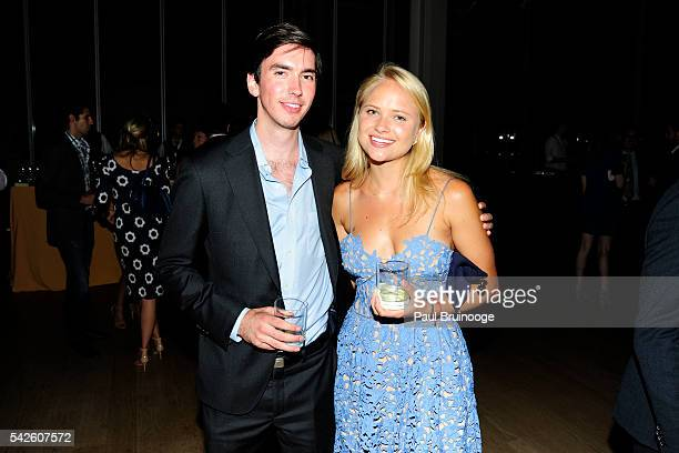 Frank Turner and Henrietta Goelet attend the Morgan Young Fellows Summer Soiree at The Morgan Library Museum on June 21 2016 in New York City