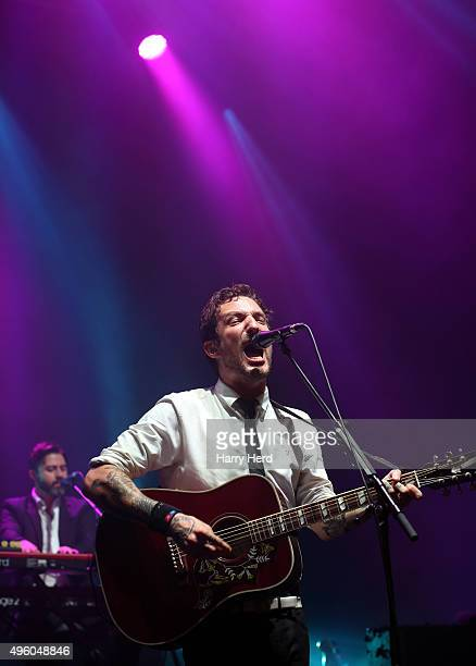 Frank Turner of Frank Turner And The Sleeping Souls performs at Southampton Guildhall on November 6 2015 in Southampton England