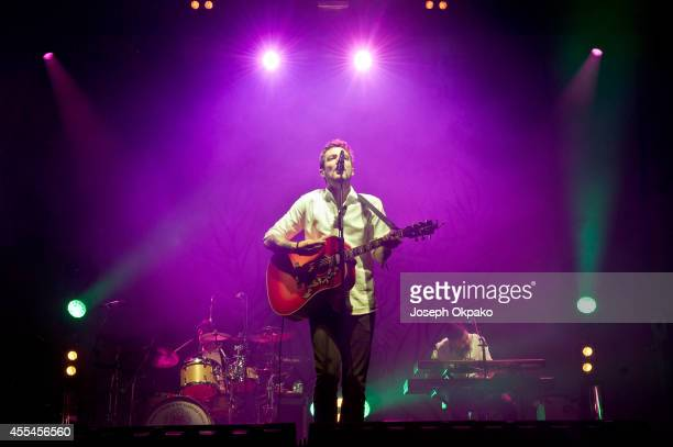 Frank Turner performs on Day 2 of ON Blackheath at Blackheath Common on September 14 2014 in London England