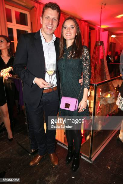 Frank Umminger and Anastasia Behrendt during the New Faces Award Style 2017 at 'The Grand' hotel on November 15 2017 in Berlin Germany