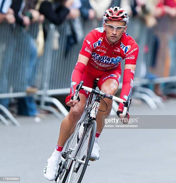 Frank Vandenbroucke was a Belgian professional road racing cyclist. 2007 NaTour Criterium Aalst.