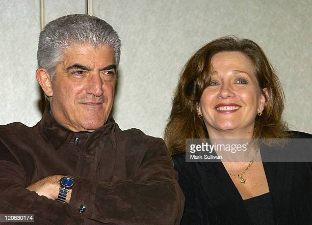 Frank Vincent and Patti D'Arbanville during 2004 American Film Market Echelon Entertainment Press Conference for A Tale of Two Pizzas at Loews Santa...