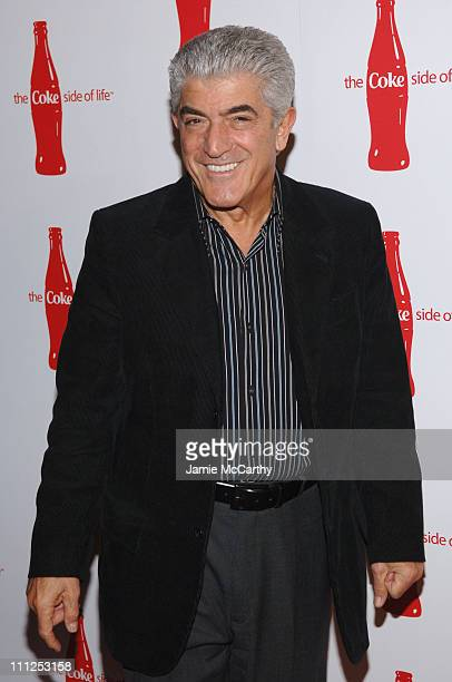 Frank Vincent during Coca Cola's Coke Side Of Life Launch Party at Capitale in New York City at Capitale in New York City New York United States