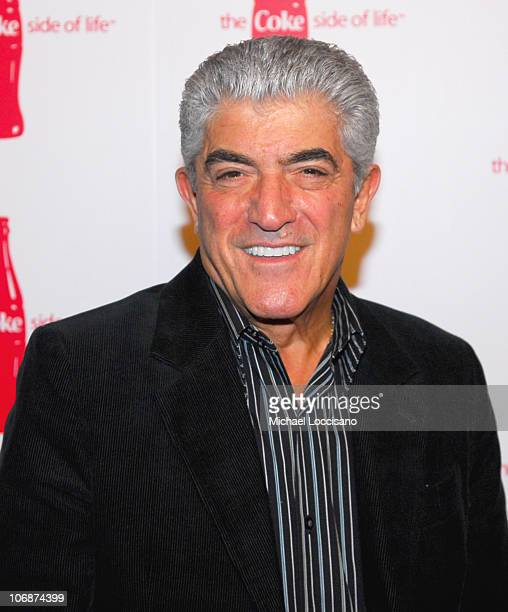 Frank Vincent during CocaCola's Coke Side Of Life Launch Party with a Performance by NeYo March 30 2006 at Capitale in New York City New York United...