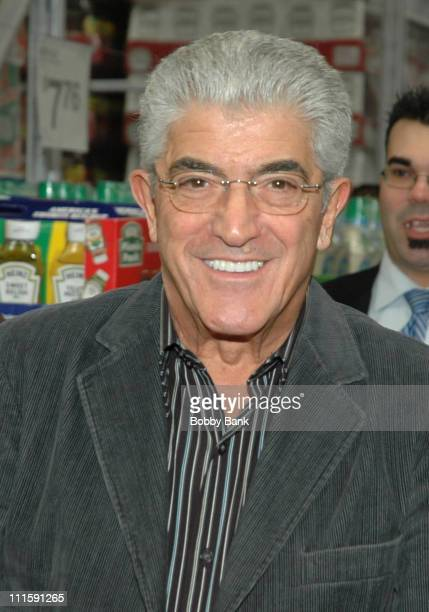 Frank Vincent during Frank Vincent Signs His New Book 'A Guide To Being A Man's Man' at Sam's Club in Freehold March 23 2006 at Sam's Club in...