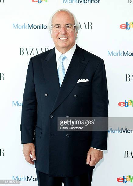 Frank W Abagnale attends Harper's Bazaar Annual Anticounterfeiting Summit at Hearst Tower on April 26 2011 in New York City