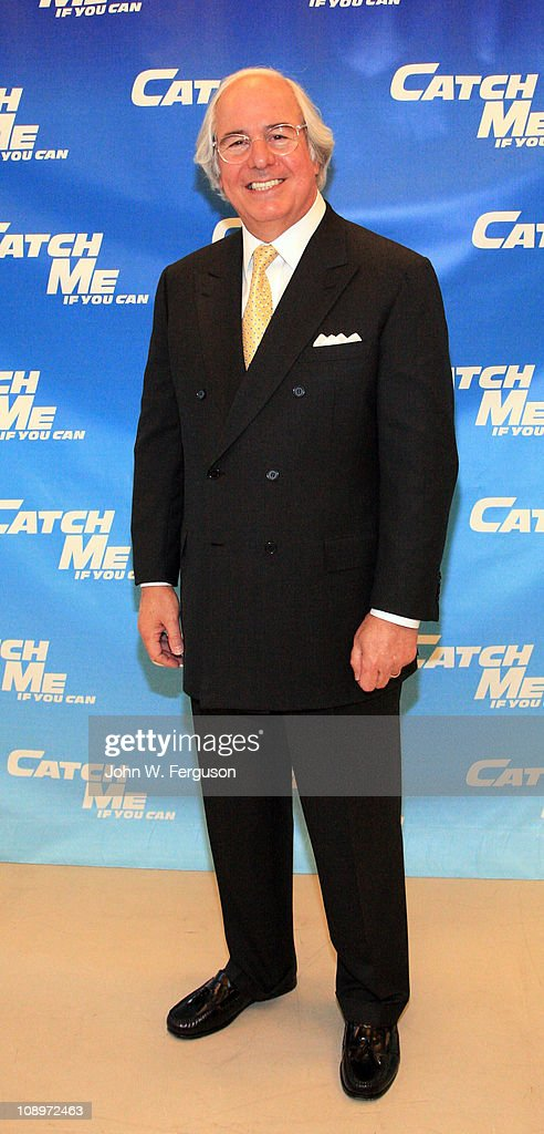 frank w abagnale attends the catch me if you can broadway news