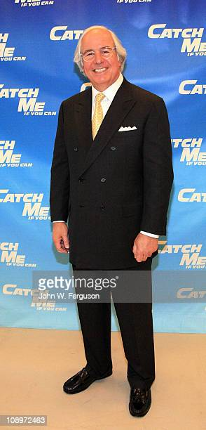 Frank W Abagnale attends the Catch Me If You Can Broadway rehearsal Sneak Peek at The New 42nd Street Studios on February 10 2011 in New York City