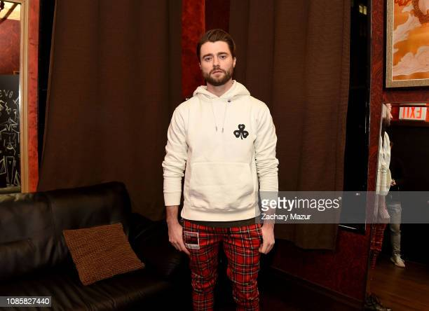 Frank Walker poses backstage during the With My Homies Tour at Irving Plaza on January 19, 2019 in New York City.