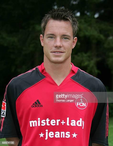 Frank Wiblishauser during the Team Presentation of 1 FC Nuremberg for the Bundesliga Season 2005 2006 on July 1 2005 in Bad Woerishofen Germany
