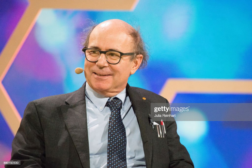 Frank Wilczek, 2004 Laureate of the Nobel Prize in Physics, speaks at 'Nobel Week Dialogue: the Future of Truth' conference at at Svenska Massan on December 9, 2017, in Gothenburg, Sweden.