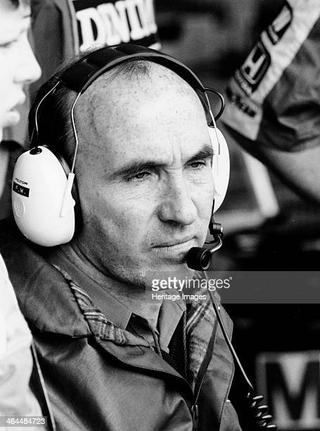 Frank Williams 1987 In the late 1960s he established Frank Williams Racing Cars and in 1972 the first Williams built F1 car appeared He went into...