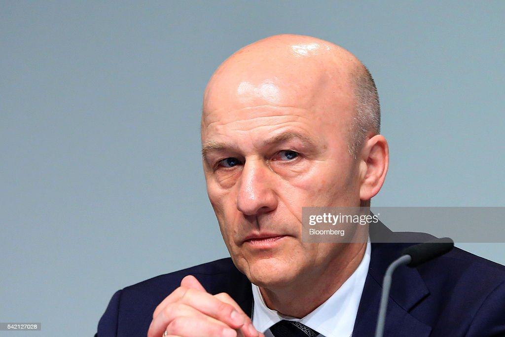 Volkswagen AG Chief Executive Officer Matthias Mueller Speaks To Shareholders At Annual General Meeting
