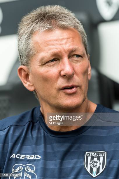 Frank Wormuth during the team presentation of Heracles Almelo on July 09 2018 at the Polman stadium in Almelo The Netherlands