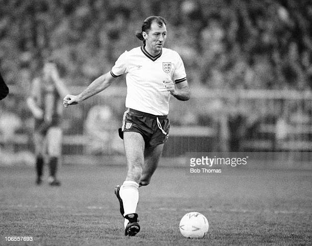 Frank Worthington of the England XI during the Bradford City v England XI match played at Valley Parade Bradford on the 14th December 1986 Bradford...