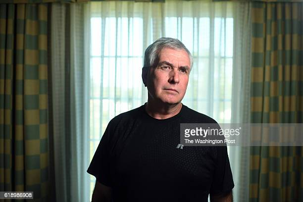 Frank Younker formerly of the Drug Enforcement Administration or DEA poses for a portrait at a Hilton Garden Inn on Thursday October 06 2016 in...