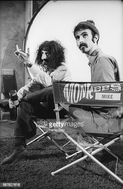 Frank Zappa and Michael Nesmith