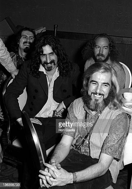 Frank Zappa and the Mothers of Invention attend 10th Annual Grammy Awards on February 29 1968 at the New York Hilton Hotel in New York City