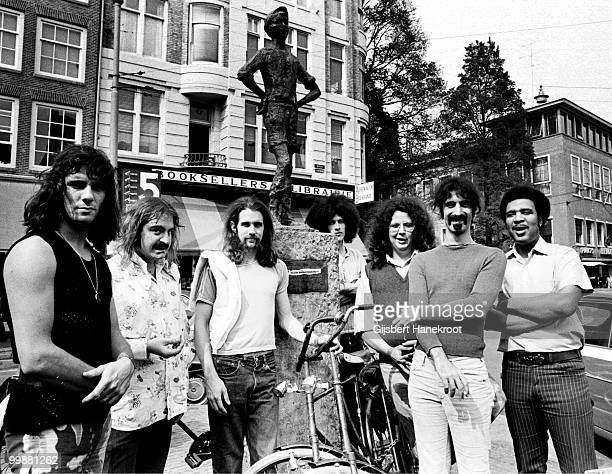 Frank Zappa and The Mothers Of Invention posed in Amsterdam Netherlands on December 06 1970 Frank Zappa 2nd from right